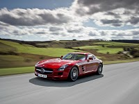 Модель Mercedes-Benz SLS AMG 6.3 AT –автомобиль